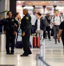 Airports Boost Security For U.S. Flights