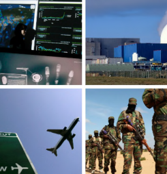 Airports and nuclear power stations on terror alert